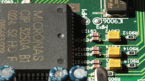 Printed Circuit Board With Radio Components 4