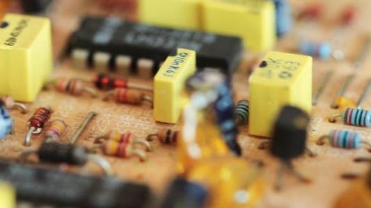 Cover Image for Printed Circuit Board With Radio Components 9