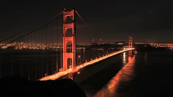 Cover Image for San Fran Between Golden Gate Bridge Sunset - Clip 3