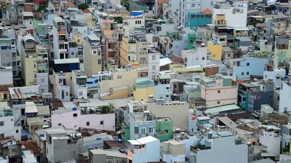 Thumbnail for Ho Chi Minh City Buildings Daytime From Above