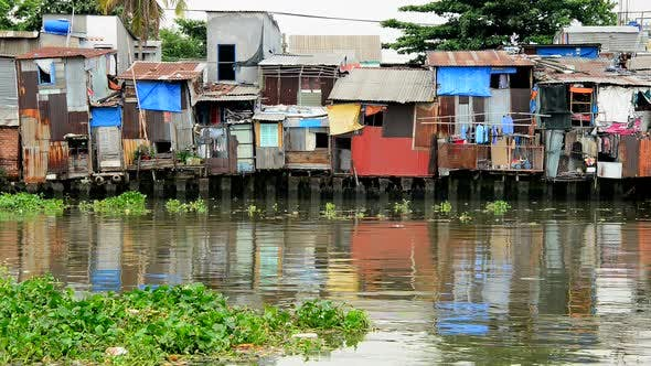 Thumbnail for Shacks On The Saigon River - Ho Chi Minh City (Saigon) -