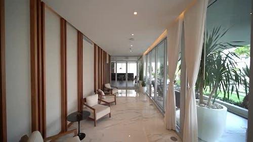 Gebäude Apartment Loungebereich