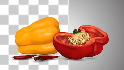 Bell Pepper And chili Pepper