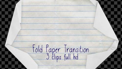 Fold Paper Transition