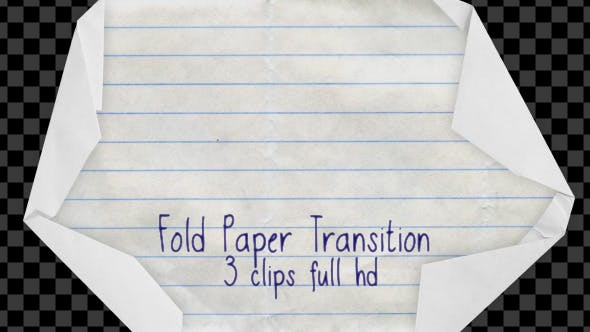 Thumbnail for Fold Paper Transition