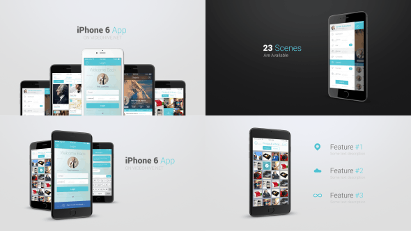 Thumbnail for Iphone 6 App Presentation Kit