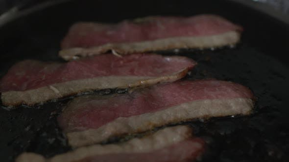 Thumbnail for Frying Bacon (3 Of 3)