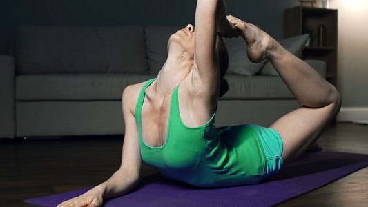 Cover Image for One-Legged Bow Pose