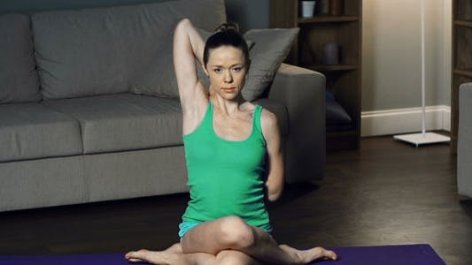 Cover Image for Cow Face Pose