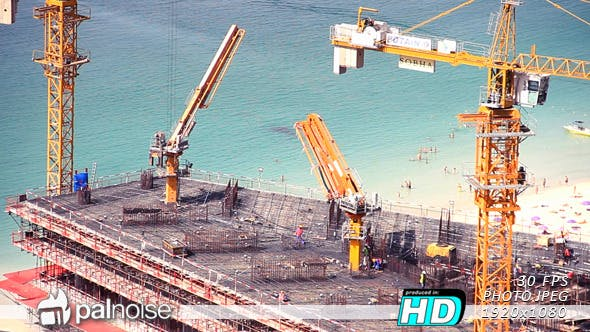 Thumbnail for Construction Site at Beach