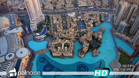 Thumbnail for Dubai Mall Fountain Panoramic