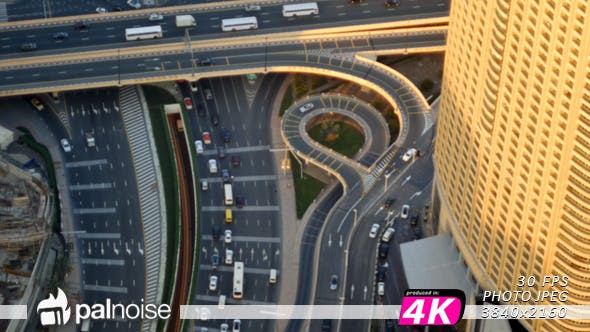 Thumbnail for Cars from Above Aerial