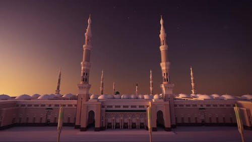 Al Masjid an Nabawi 3d mosque