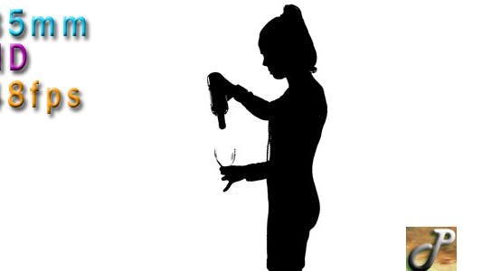 Thumbnail for Woman Pouring Wine 02