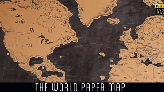 Cover Image for The World Map 7