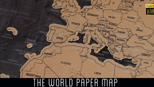 Cover Image for The World Map 16