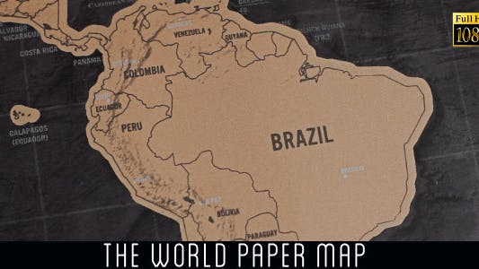 Thumbnail for The World Map 19