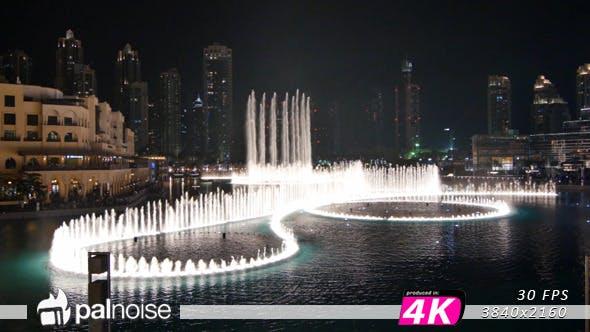 Thumbnail for Fountain Water Main Show. Dubai