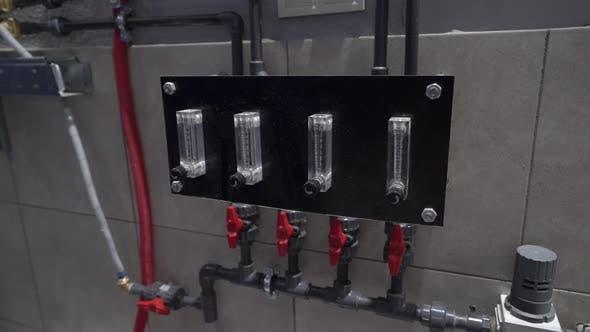 Thermomètre pour tuyaux d'eau