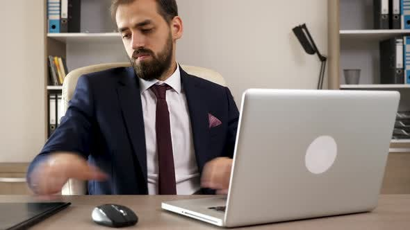 Thumbnail for Young Entrepreneur in His Office
