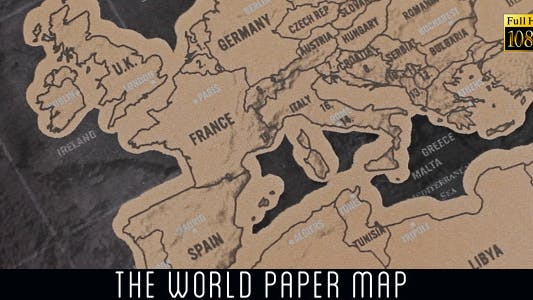 Thumbnail for The World Map 22