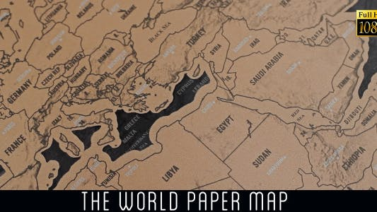 Thumbnail for The World Map 23
