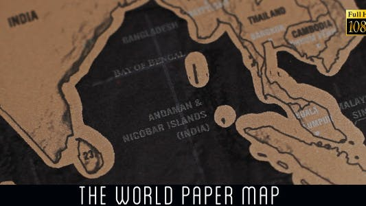 Cover Image for The World Map 34