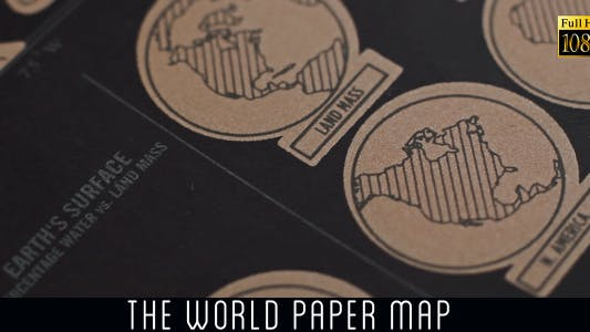 The World Map Icons