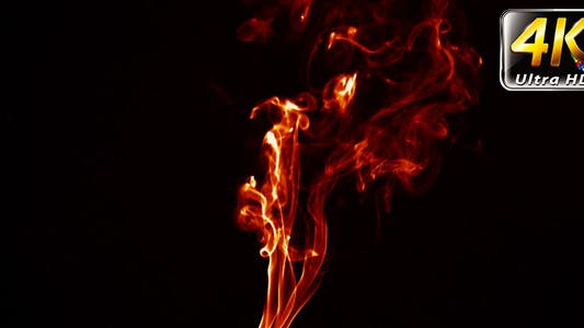 Cover Image for Abstract Fire Burning Smoke Element