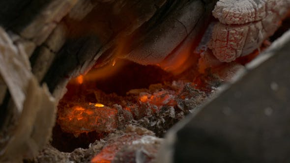 Thumbnail for Fire In Fireplace