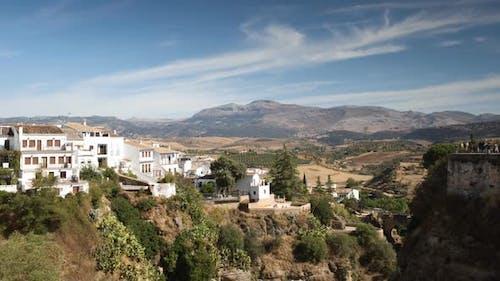 Blick auf die Schöne Stadt Ronda In Andalusien, Spanien. 1