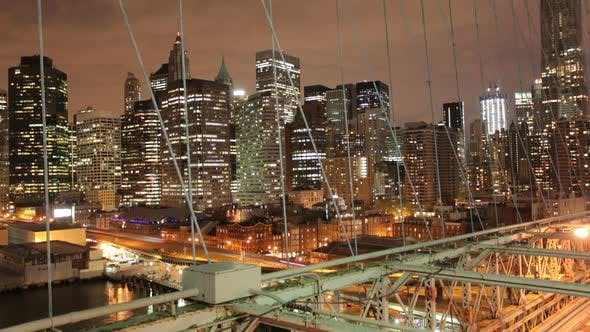 Thumbnail for Timelapse Of Brooklyn Bridge, Ney York, Usa 4