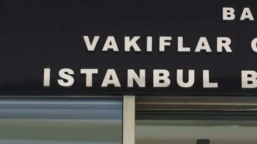 A Sequences Of Different Found Images Of The Word Istanbul, Played Fast