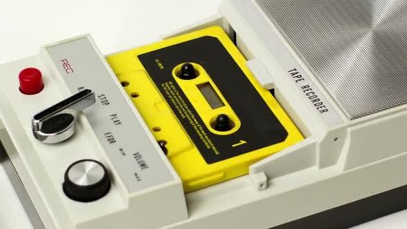 Thumbnail for Vintage Tape Recorder Cassette 5