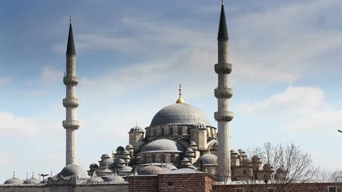 Mosque In Istanbul 2