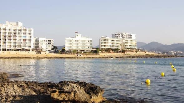 A View Of The Coast In San Antoni,  Ibiza 1