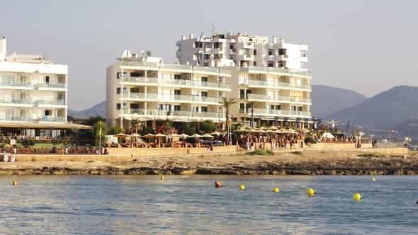 A View Of The Coast In San Antoni,  Ibiza 2
