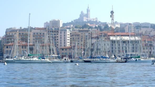 Cover Image for Hafen Marseille Vieux Boote 7