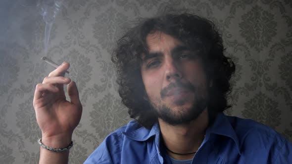 Thumbnail for Cool Man Smoking 1
