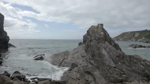Thumbnail for Stunning And Dramatic Coastline At Gunwalloe Beach On The Cornwall Coast, England 2
