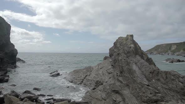 Thumbnail for Stunning And Dramatic Coastline At Gunwalloe Beach On The Cornwall Coast, England 3