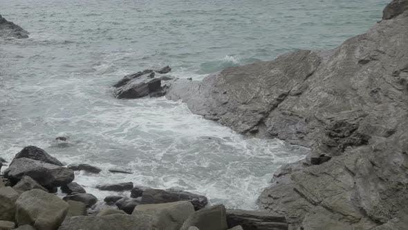 Thumbnail for Stunning And Dramatic Coastline At Gunwalloe Beach On The Cornwall Coast, England 4