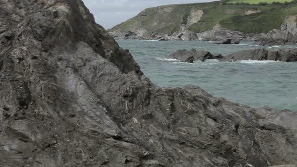 Thumbnail for Stunning And Dramatic Coastline At Gunwalloe Beach On The Cornwall Coast, England 5