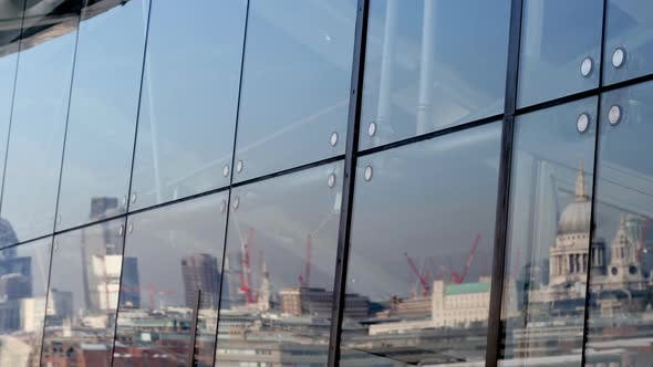 Thumbnail for Reflection Of London Skyline In Oxo Tower Window 1