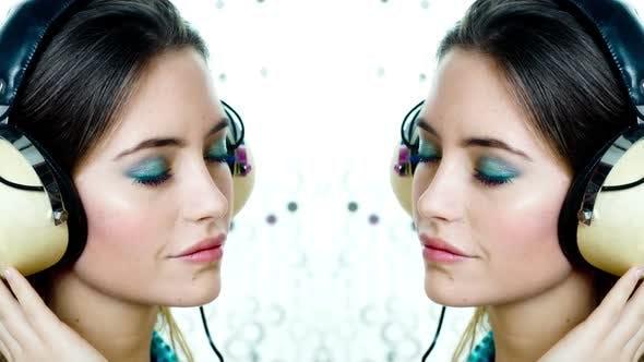 Thumbnail for Headphone Disco Woman Dancer 2