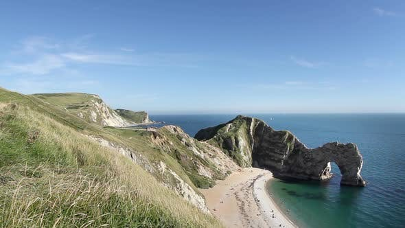 Thumbnail for Timelapse Of The Stunning And Dramatic Coastline At Durdle Door On The Dorset Coast, England 4