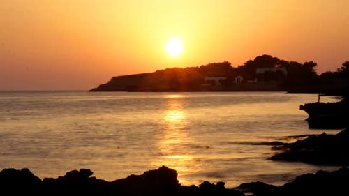 Sunset View Of The Coast In Ibiza 2