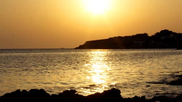 Sunset View Of The Coast In Ibiza 4