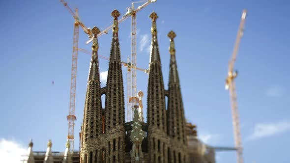 Thumbnail for Sagrada Familia Gaudi Barcelona Church 3