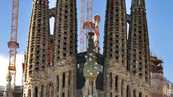Thumbnail for Sagrada Familia Gaudi Barcelona Church 6